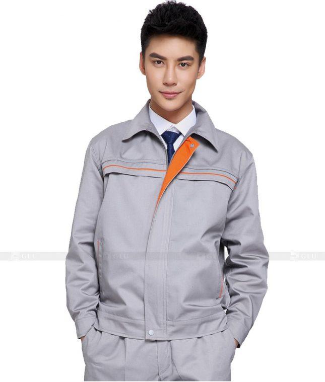 Dong phuc cong nhan GLU CN811 mẫu áo công nhân