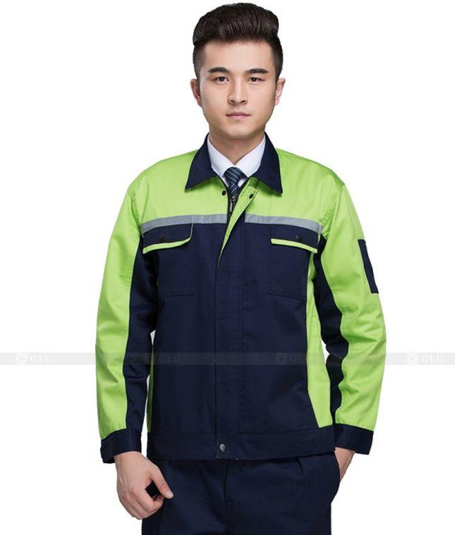 Dong phuc cong nhan GLU CN812 mẫu áo công nhân
