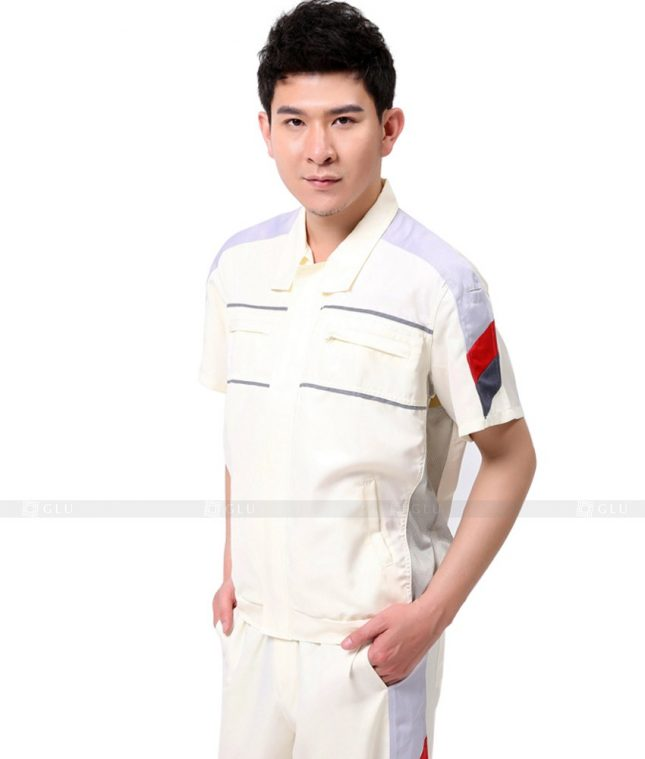 Dong phuc cong nhan GLU CN822 đồng phục công nhân kĩ thuật