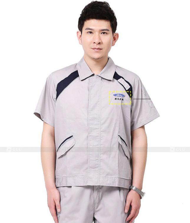 Dong phuc cong nhan GLU CN826 đồng phục công nhân kĩ thuật
