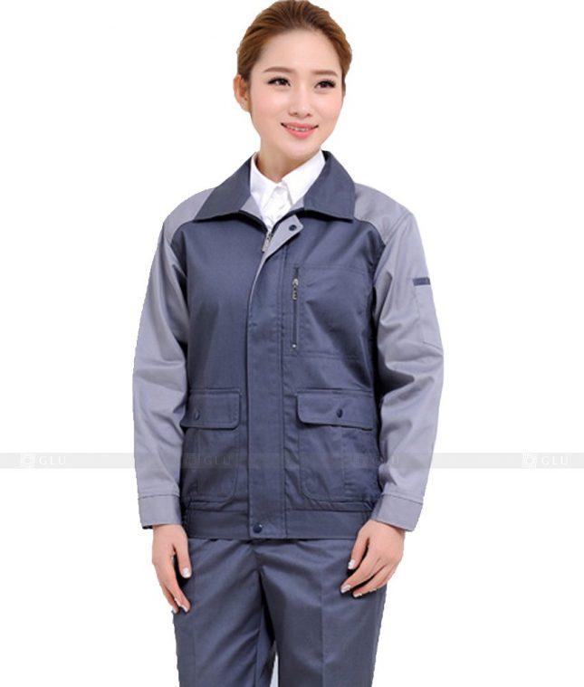Dong phuc cong nhan GLU CN827 đồng phục công nhân kĩ thuật