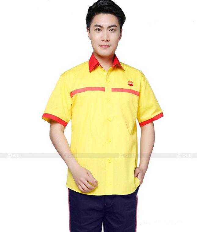 Dong phuc cong nhan GLU CN828 đồng phục công nhân kĩ thuật