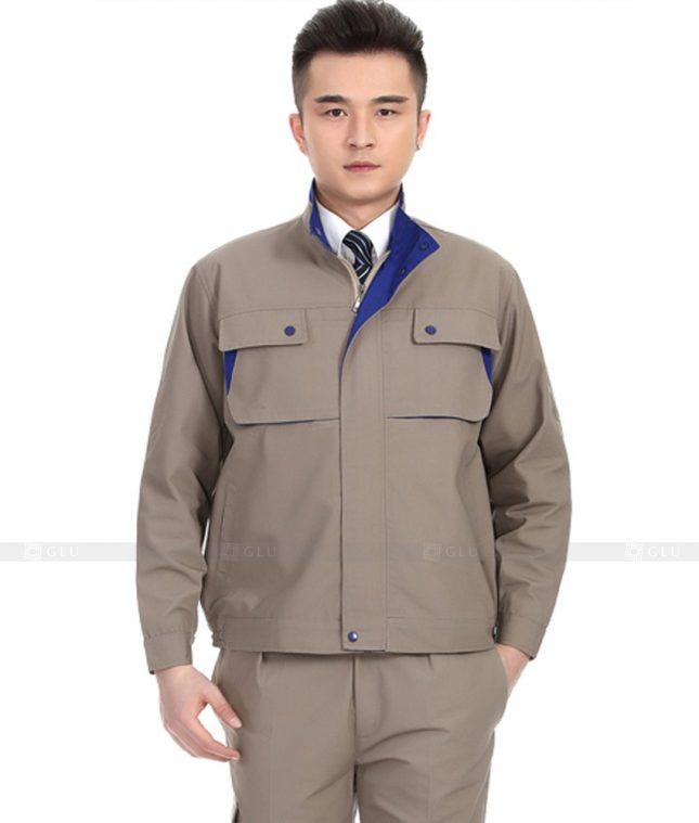 Dong phuc cong nhan GLU CN830 đồng phục công nhân kĩ thuật