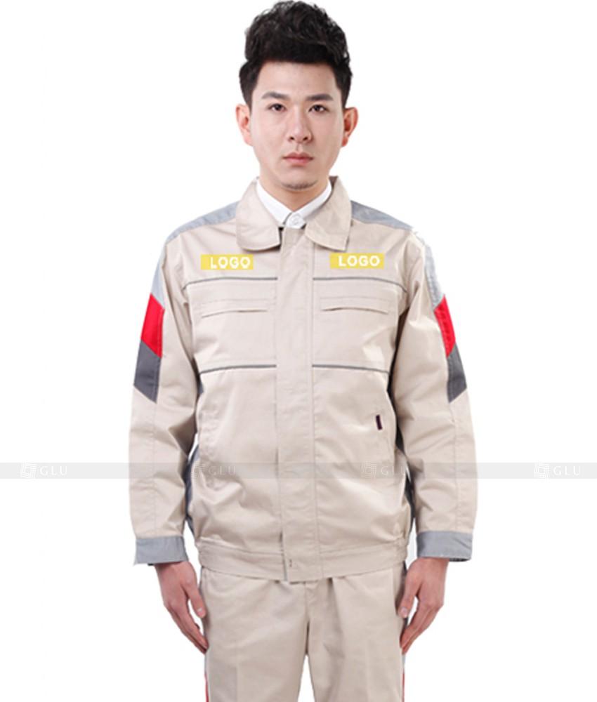 Dong phuc cong nhan GLU CN831