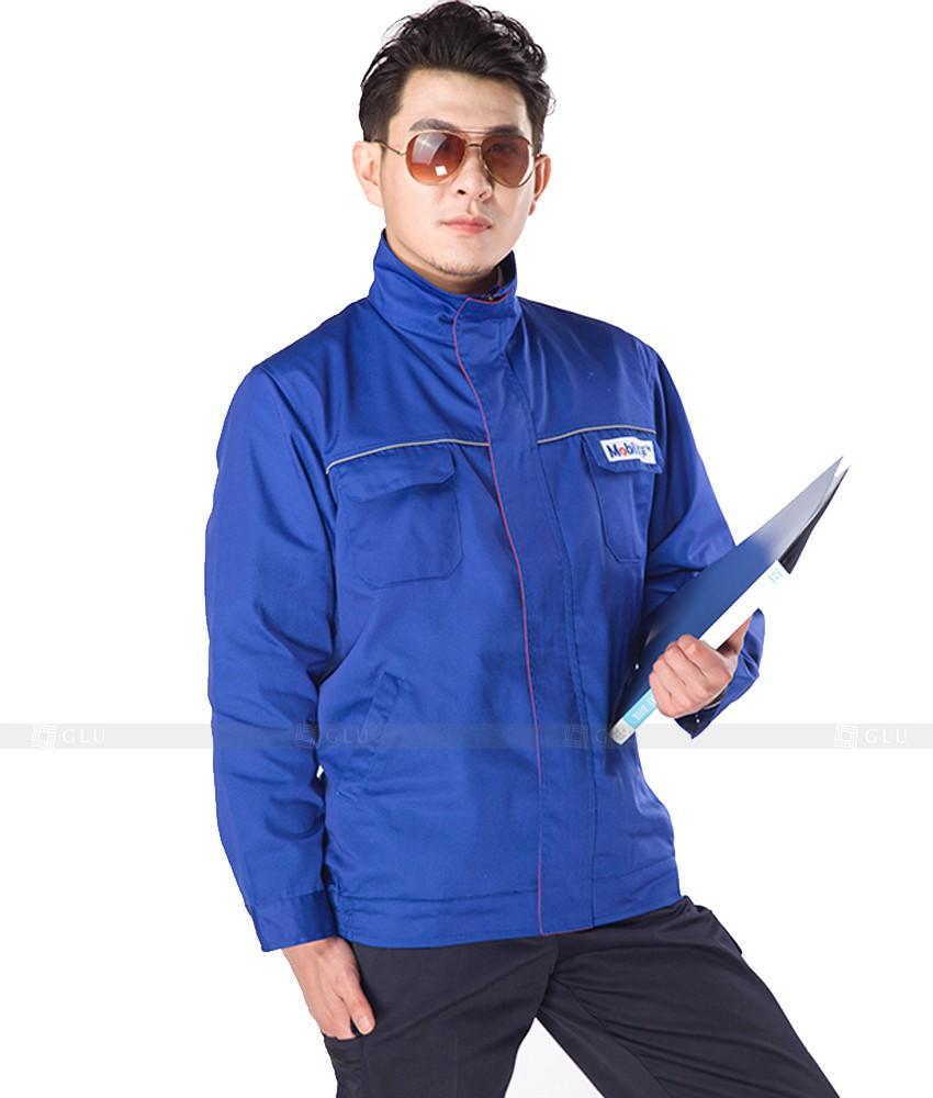 Dong phuc cong nhan GLU CN832