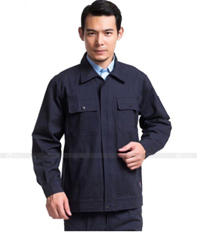 Dong phuc cong nhan GLU CN834 đồng phục công nhân kĩ thuật