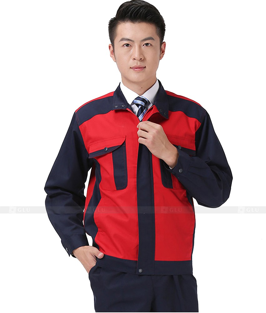 Dong phuc cong nhan GLU CN838
