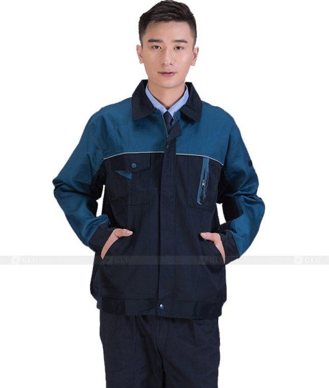 Dong phuc cong nhan GLU CN843 đồng phục công nhân kĩ thuật