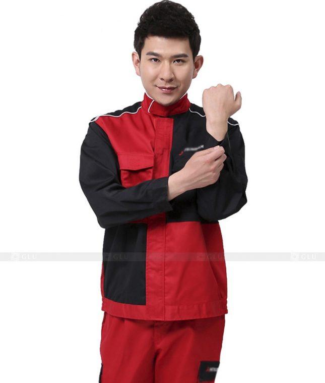 Dong phuc cong nhan GLU CN845 đồng phục công nhân kĩ thuật