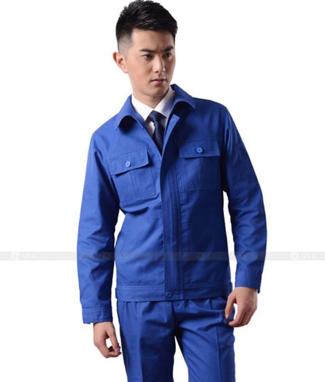 Dong phuc cong nhan GLU CN851 mẫu áo công nhân