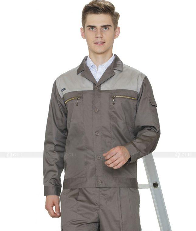Dong phuc cong nhan GLU CN852 mẫu áo công nhân