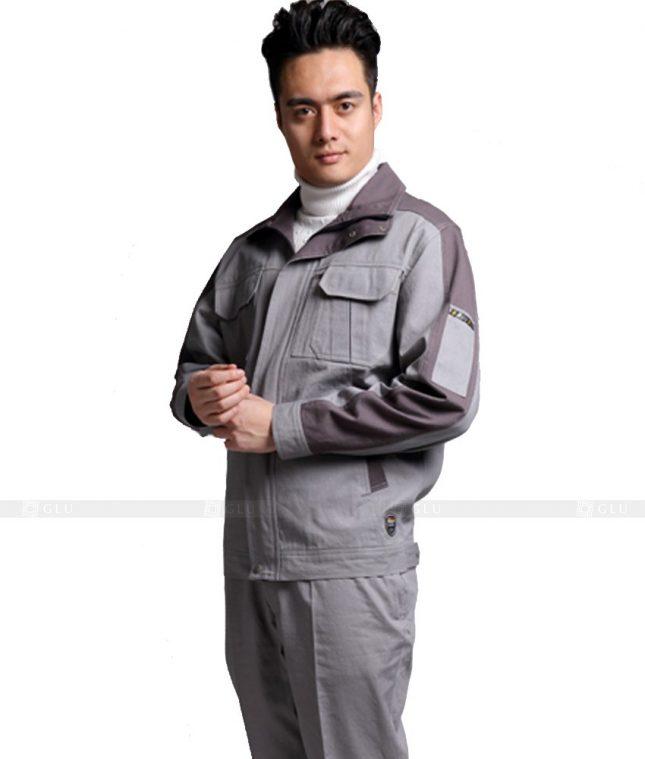 Dong phuc cong nhan GLU CN853 mẫu áo công nhân