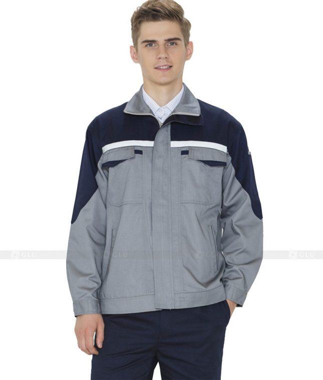 Dong phuc cong nhan GLU CN854 mẫu áo công nhân
