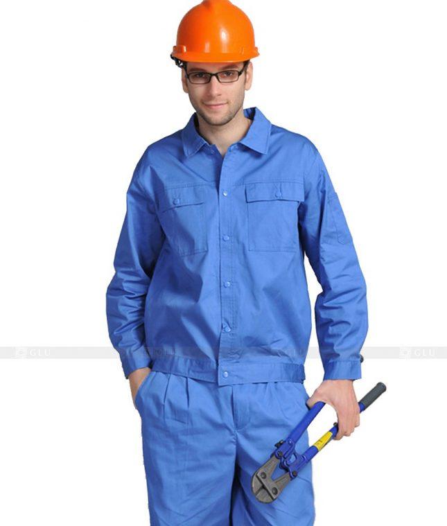 Dong phuc cong nhan GLU CN857 mẫu áo công nhân