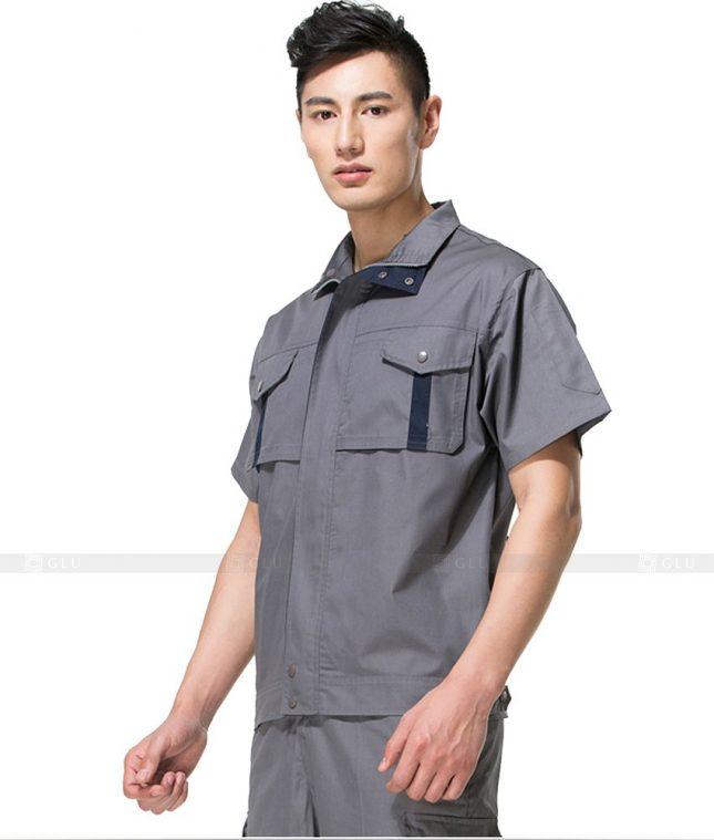 Dong phuc cong nhan GLU CN859 mẫu áo công nhân