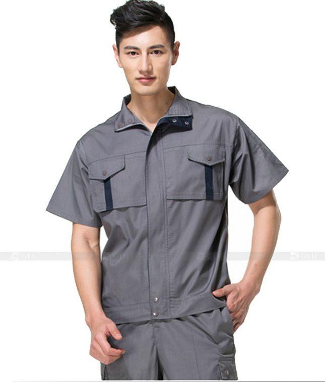 Dong phuc cong nhan GLU CN860 đồng phục công nhân kĩ thuật
