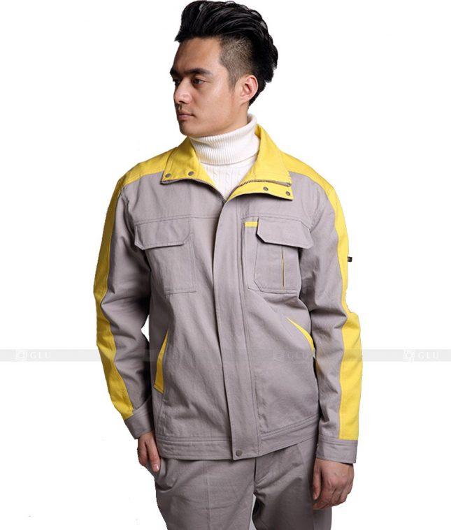Dong phuc cong nhan GLU CN861 mẫu áo công nhân