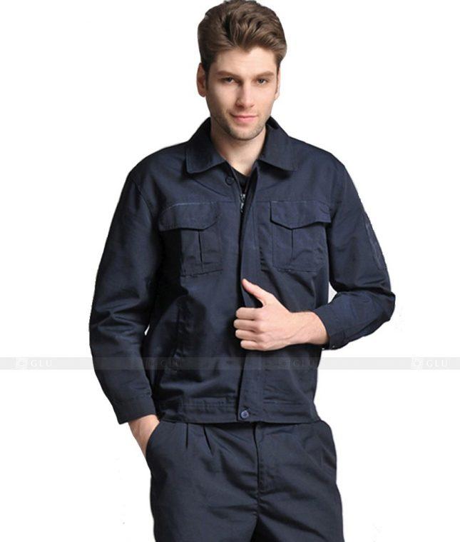 Dong phuc cong nhan GLU CN864 mẫu áo công nhân