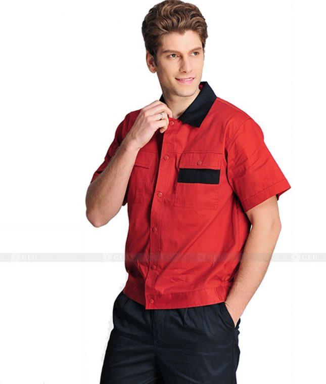 Dong phuc cong nhan GLU CN867 mẫu áo công nhân