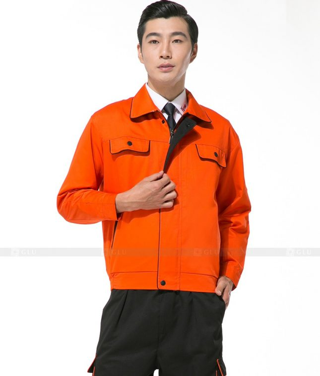 Dong phuc cong nhan GLU CN868 mẫu áo công nhân
