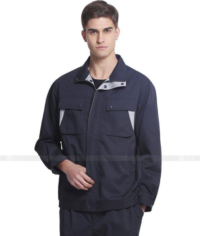 Dong phuc cong nhan GLU CN869 mẫu áo công nhân