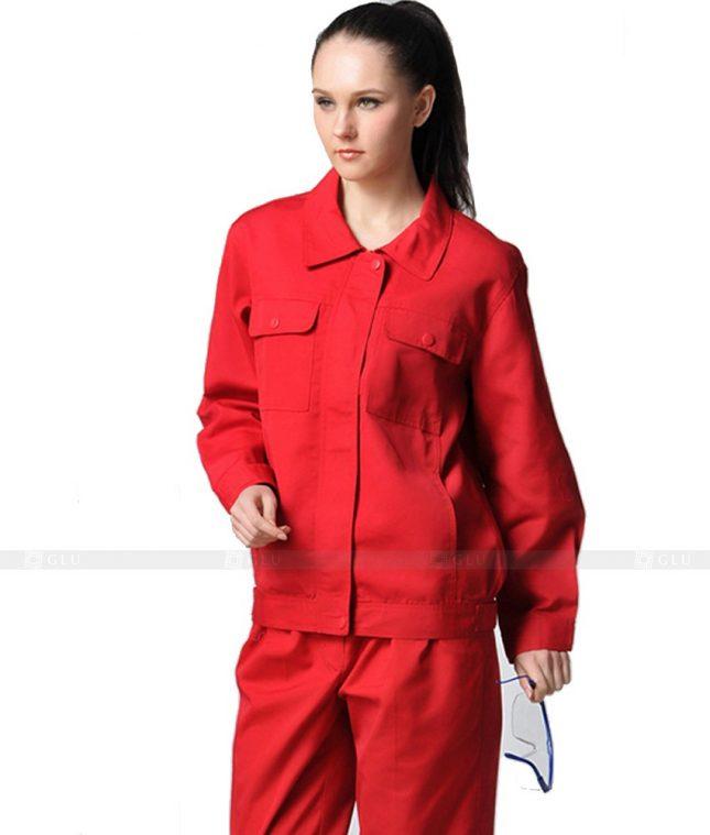Dong phuc cong nhan GLU CN870 mẫu áo công nhân