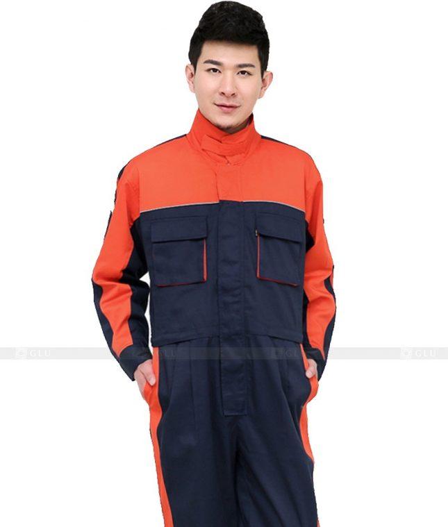 Dong phuc cong nhan GLU CN871 mẫu áo công nhân