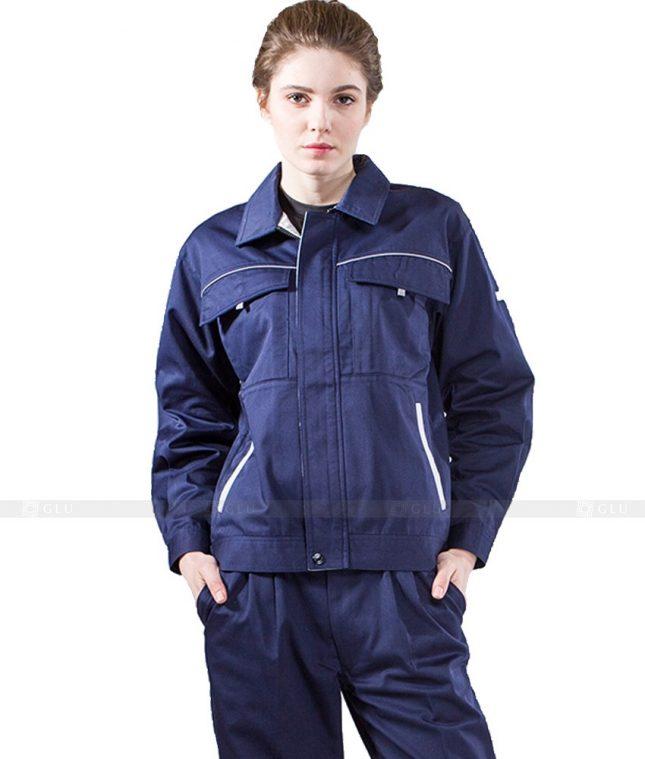 Dong phuc cong nhan GLU CN872 mẫu áo công nhân