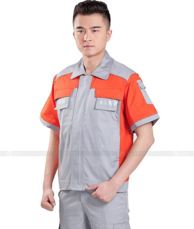 Dong phuc cong nhan GLU CN873 mẫu áo công nhân