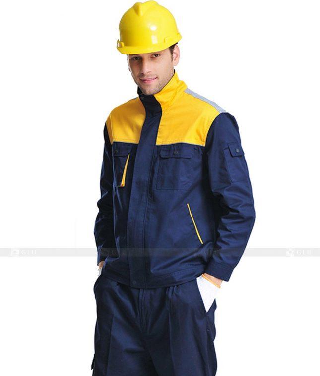 Dong phuc cong nhan GLU CN874 mẫu áo công nhân