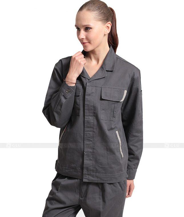 Dong phuc cong nhan GLU CN876 mẫu áo công nhân