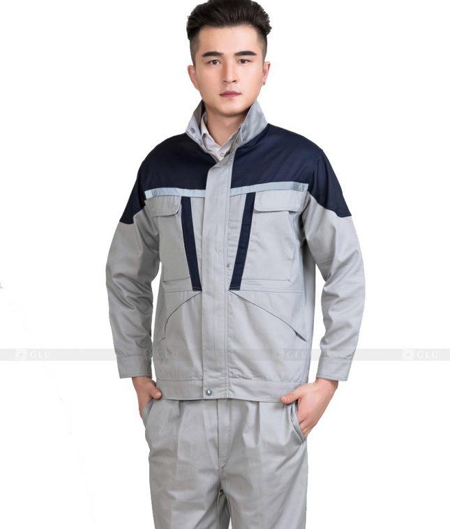 Dong phuc cong nhan GLU CN877 mẫu áo công nhân