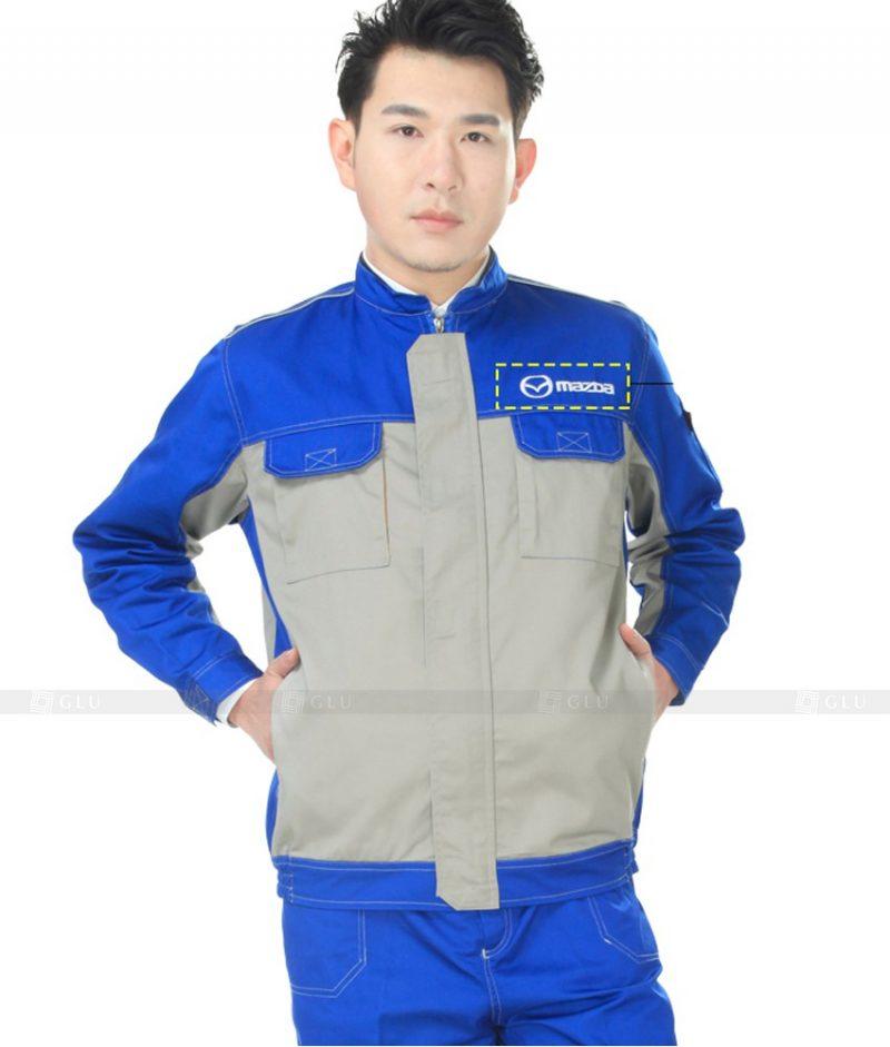 Dong phuc cong nhan GLU CN878