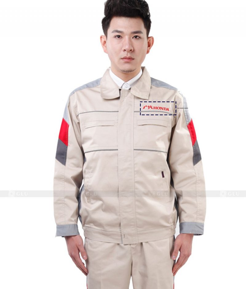 Dong phuc cong nhan GLU CN879