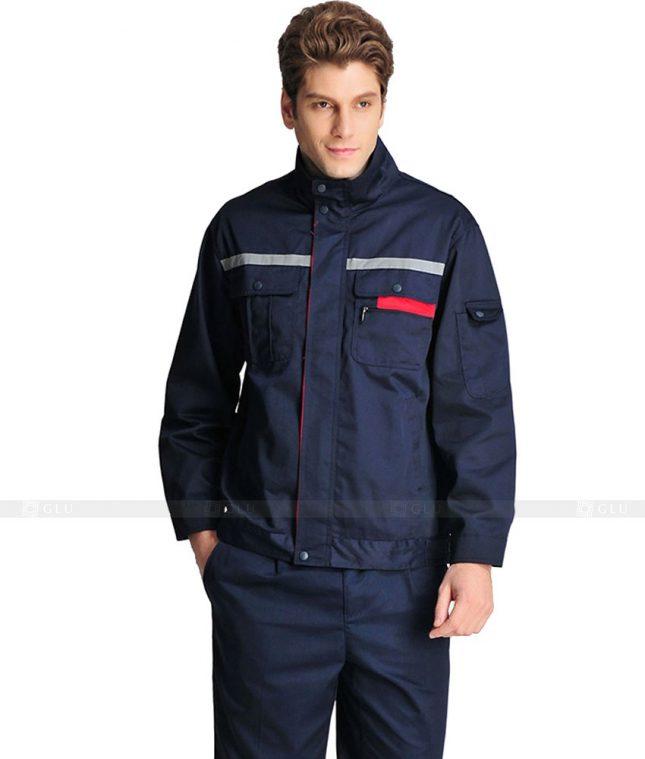 Dong phuc cong nhan GLU CN882 mẫu áo công nhân