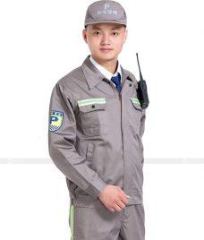 Dong phuc cong nhan GLU CN887 Quần Áo Đồng Phục Công Nhân