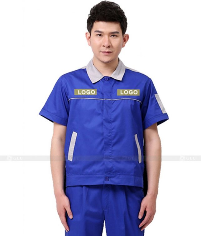 Dong phuc cong nhan GLU CN890 đồng phục công nhân kĩ thuật