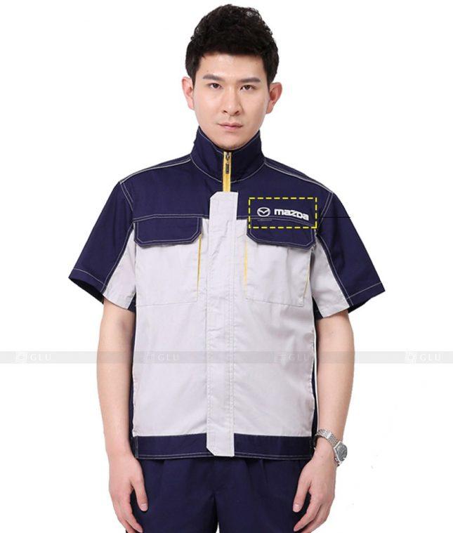 Dong phuc cong nhan GLU CN898 đồng phục công nhân kĩ thuật