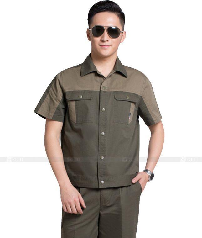 Dong phuc cong nhan GLU CN900 đồng phục công nhân kĩ thuật
