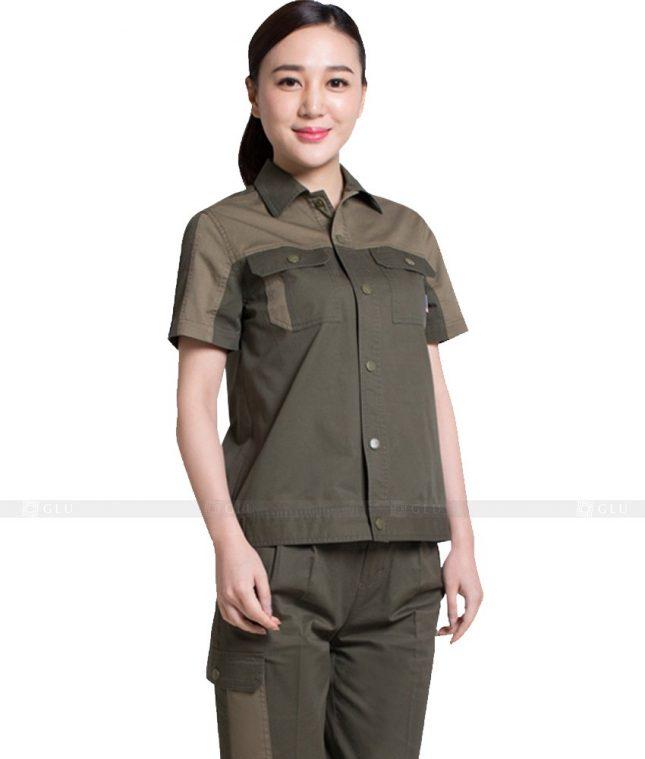 Dong phuc cong nhan GLU CN904 đồng phục công nhân kĩ thuật