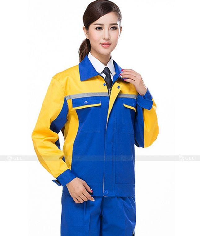 Dong phuc cong nhan GLU CN906 đồng phục công nhân kĩ thuật
