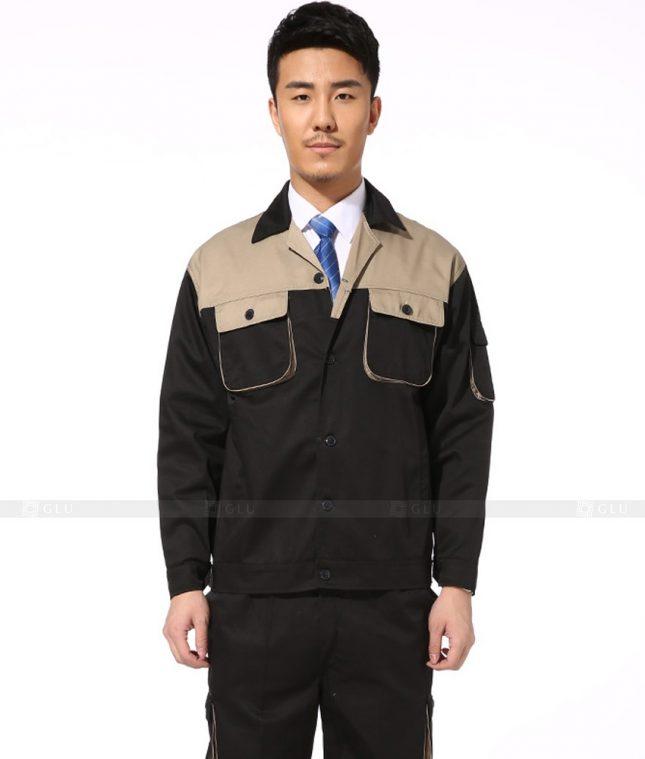 Dong phuc cong nhan GLU CN909 đồng phục công nhân kĩ thuật