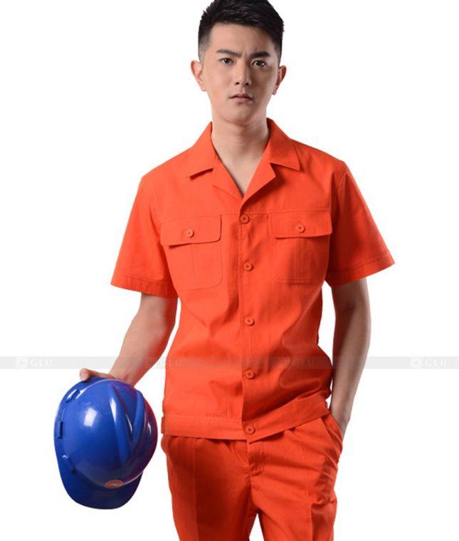 Dong phuc cong nhan GLU CN910 đồng phục công nhân kĩ thuật
