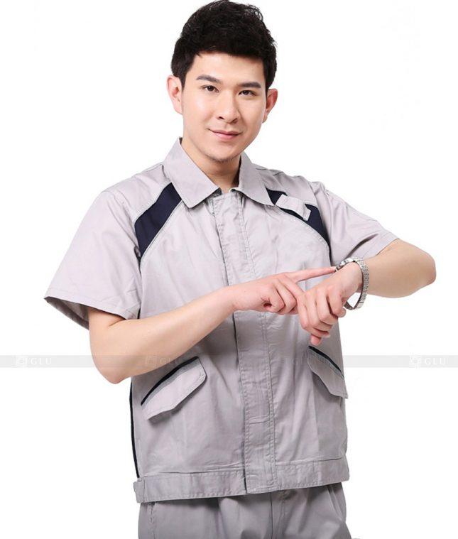 Dong phuc cong nhan GLU CN916 đồng phục công nhân kĩ thuật