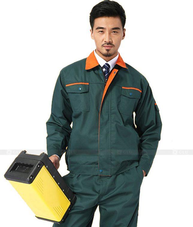 Dong phuc cong nhan GLU CN919 đồng phục công nhân kĩ thuật