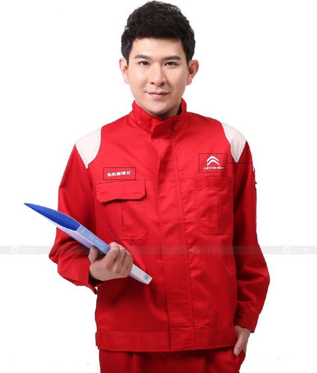 Dong phuc cong nhan GLU CN921 đồng phục công nhân kĩ thuật