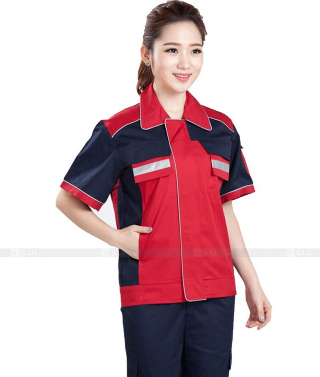 Dong phuc cong nhan GLU CN927 đồng phục công nhân kĩ thuật