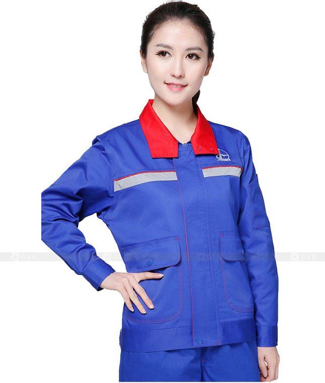 Dong phuc cong nhan GLU CN928 đồng phục công nhân kĩ thuật