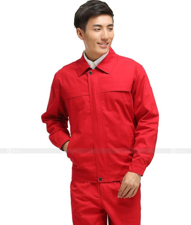Dong phuc cong nhan GLU CN929 mẫu đồng phục công nhân