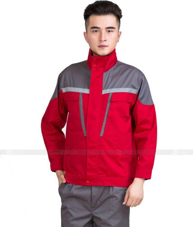 Dong phuc cong nhan GLU CN932 mẫu đồng phục công nhân